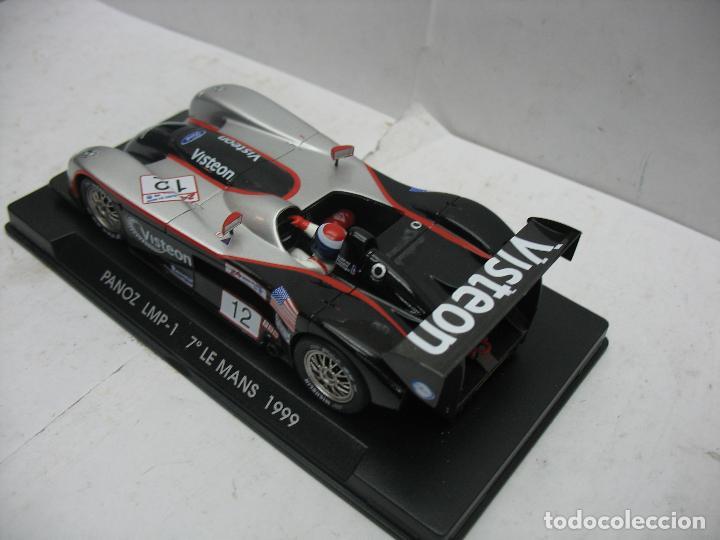 Slot Cars: ¿SCALEXTRIC? Fly TecniToys - Coche de carreras Panoz LMP-1 7º Le Mans 1999 - Foto 3 - 113190011