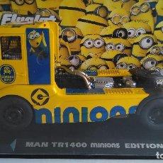 Slot Cars: FLYSLOT FLY SLOT CAMIÓN TRUCK MAN TR 1400 EDICIÓN ESPECIAL MINIONS,VÁLIDO IBERTREN. Lote 116217687