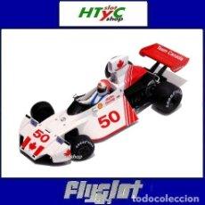 Slot Cars: FLYSLOT BRABHAM FORD BT 42/44 #50 EPPIE WIETZES GP CANADA 1974 FLY 062105. Lote 117216723