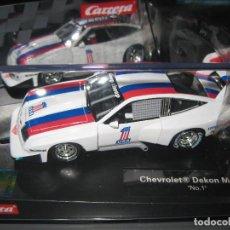 Slot Cars: 27581 - CHEVROLET DEKON MONZA Nº1 DE CARRERA. Lote 121381146