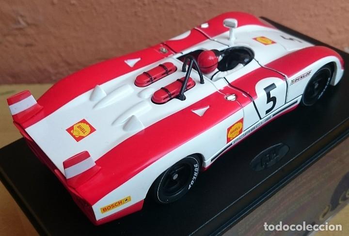 Slot Cars: FLY SLOT CLASSIC C48 PORSCHE 908 FLUNDER LH Nº5 - 6º ZELTWEG 1969 / FABRICADO EN ESPAÑA - Foto 3 - 121023399