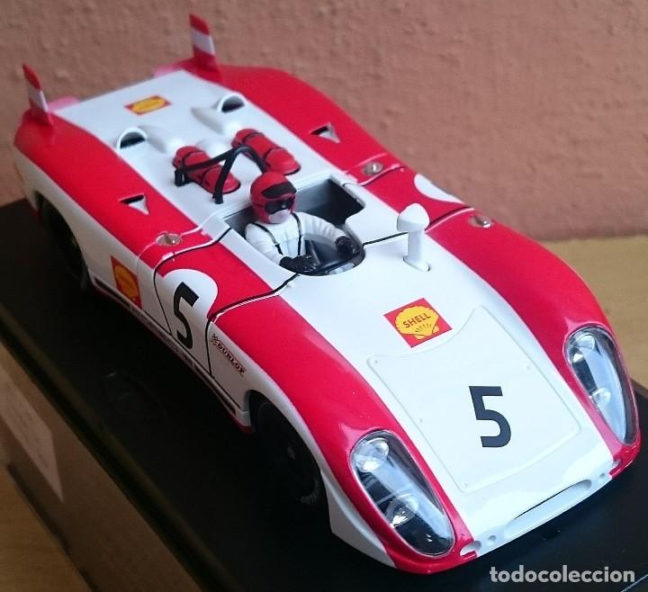 Slot Cars: FLY SLOT CLASSIC C48 PORSCHE 908 FLUNDER LH Nº5 - 6º ZELTWEG 1969 / FABRICADO EN ESPAÑA - Foto 4 - 121023399