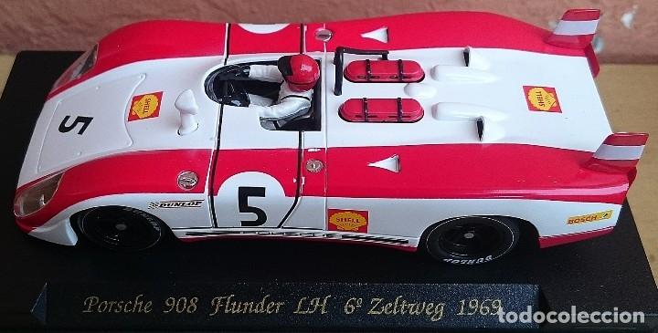 Slot Cars: FLY SLOT CLASSIC C48 PORSCHE 908 FLUNDER LH Nº5 - 6º ZELTWEG 1969 / FABRICADO EN ESPAÑA - Foto 5 - 121023399