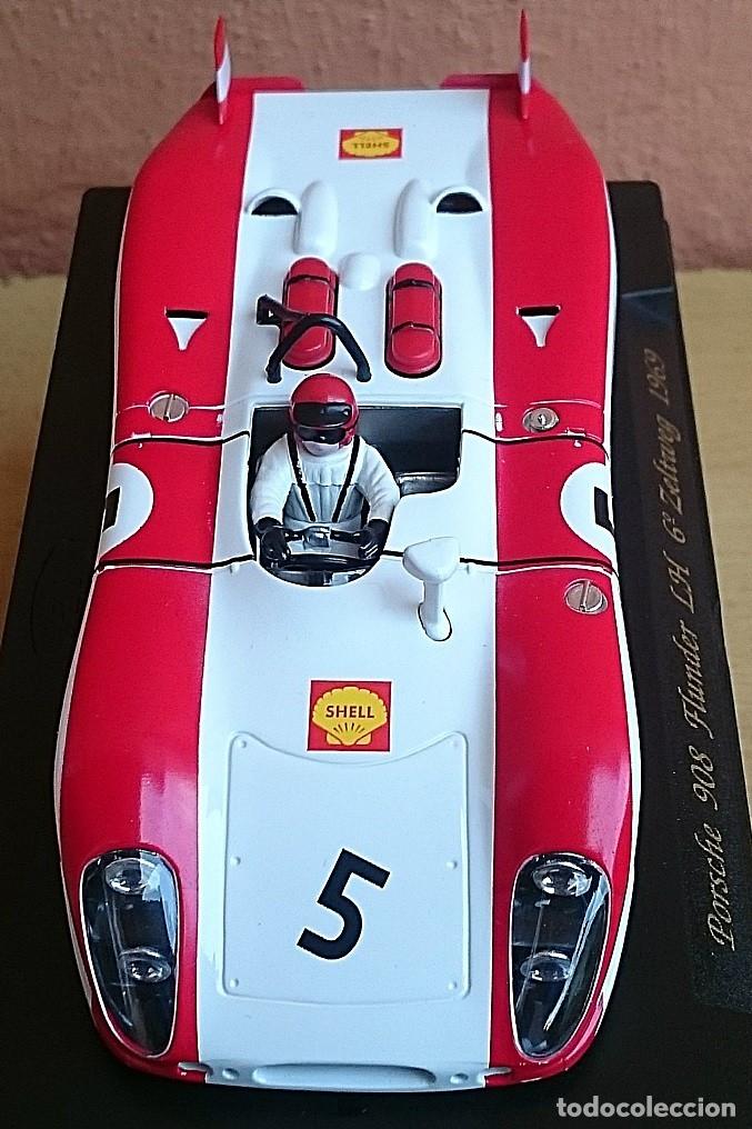 Slot Cars: FLY SLOT CLASSIC C48 PORSCHE 908 FLUNDER LH Nº5 - 6º ZELTWEG 1969 / FABRICADO EN ESPAÑA - Foto 10 - 121023399