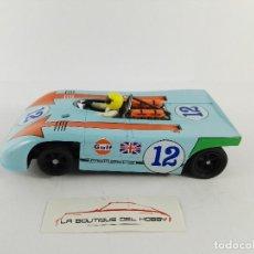 Slot Cars: PORSCHE 908/3 TARGA FLORIO FLY C64. Lote 121745379