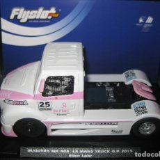 Slot Cars: OFERTA - 205104 - CAMION BUGGYRA LE MANS TRUCK G. P. 2013 DE FLYSLOT. Lote 140954950