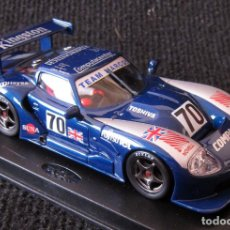 Slot Cars: SCALEXTRIC - MARCOS 600 LM, LE MANS 95 - REF: A-22 - FLY - CON CAJA. Lote 122580331