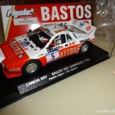 Slot Cars: FLY SLOT. LANCIA 037 BASTOS. RALLYE DES GARRIGUES 1985. ED.LTA. REF. 046303. NOVEDAD!!. Lote 130931700