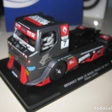 Slot Cars: BLACK FRIDAY -CAMION RENAULT MKR LE MANS GP 2011 DE FLYSLOT. Lote 183699346
