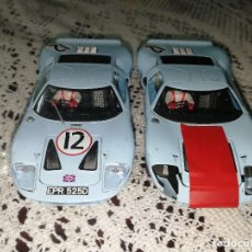 Slot Cars: COCHE FLY - FORD GT-40. Lote 130907376