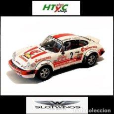 Slot Cars: SLOTWINGS PORSCHE 911 SC #2 RALLY HUNSRÜCK 1982 ZANINI / SABATER W044-06 FLYSLOT. Lote 137192158