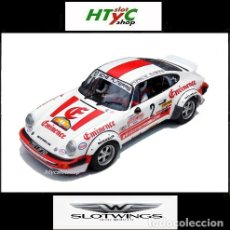 Slot Cars: SLOTWINGS PORSCHE 911 SC #2 RALLY HUNSRÜCK 1982 ZANINI / SABATER W044-06 FLYSLOT .. Lote 140849550