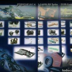 Slot Cars: LOTE DE 29 FICHAS TECNICAS DE MODELOS DE FLY. Lote 139506142