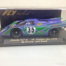 Slot Cars: SLOT, FLY C55,PORSCHE 917 K Nº35, MARTINI PSICODELICO,G.V.LENNEP-G.LARROUSE 9º 6HORAS W.GLEN 1970 . Lote 140768242