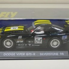 Slot Cars: J-DODGE VIPER GTS-R SILVERSTONE 98 SLOT CAR SCALEXTRIC FLY . Lote 141791122