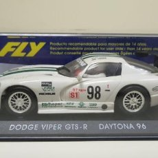 Slot Cars: J- DODGE VIPER GTS-R DAYTONA 96 SCALEXTRIC FLY . Lote 141792230