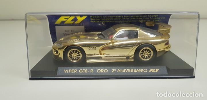 J4- VIPER GTS-R ORO 2 ANIVERSARIO FLY SLOT CAR SCALEXTRIC (Juguetes - Slot Cars - Fly)