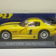 Slot Cars: J- DODGE VIPER GUIA SLOT RACING SLOT CAR SCALEXTRIC FLY . Lote 141796870
