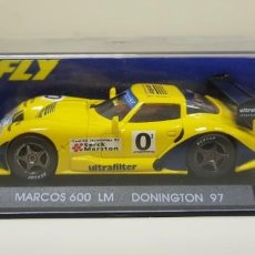 Slot Cars: J- MARCOS 600 LM DONINGTON 97 SLOT CAR SCALEXTRIC 97 FLY . Lote 141797746