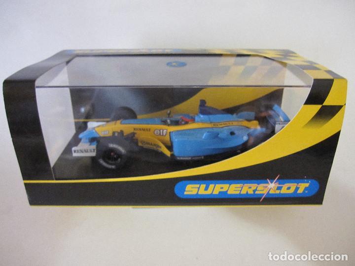 Slot Cars: COCHE DE SUPERSLOT FERNANDO ALONSO SLOT FLY CARS SCALEXTRIC NINCO NUEVO EN SU CAJA SIN USO - Foto 2 - 144100874
