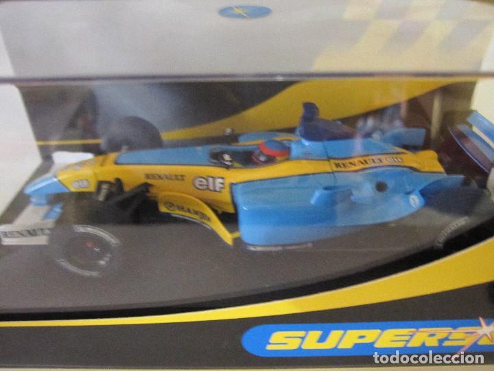 Slot Cars: COCHE DE SUPERSLOT FERNANDO ALONSO SLOT FLY CARS SCALEXTRIC NINCO NUEVO EN SU CAJA SIN USO - Foto 3 - 144100874