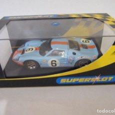 Slot Cars: COCHE DE SUPERSLOT SLOT FLY CARS SCALEXTRIC NINCO NUEVO EN SU CAJA SIN USO. Lote 144100970