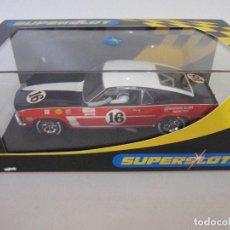 Slot Cars: COCHE DE SUPERSLOT SLOT FLY CARS SCALEXTRIC NINCO NUEVO EN SU CAJA SIN USO. Lote 144101042