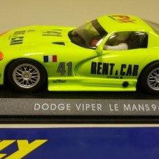 Slot Cars: J-DODGE VIPER LE MANS 94 SLOT CAR FLY . Lote 144194642