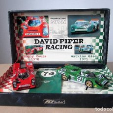 Slot Cars: FLY - DAVID PIPER RACING - PORSCHE 917K NUMERO 43 Y NUMERO 59. Lote 148170298