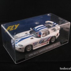 Slot Cars: FLY - DODGE VIPER GTS-R CAMPEON DEL MUNDO GT2 '97 AZUL REF. A5. Lote 53176721