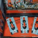 Slot Cars: TEAM PORSCHE 917 GULF DE FLY. Lote 150663126