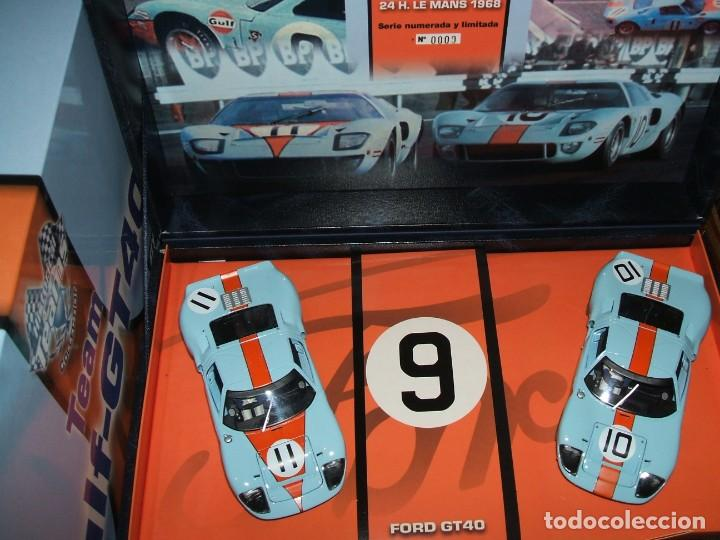 TEAM FORD GT GULF DE FLY REF.96016 NÚMERO 0000 (Juguetes - Slot Cars - Fly)