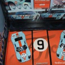 Slot Cars: TEAM FORD GT GULF DE FLY REF.96016 NÚMERO 0000. Lote 150663326