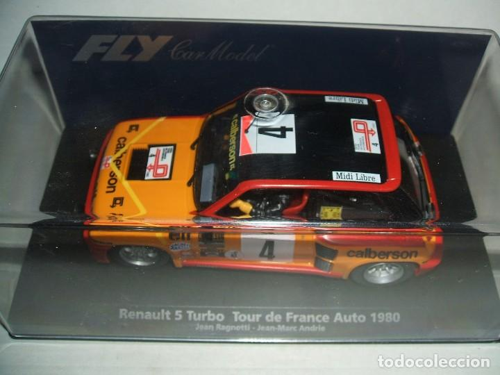 RENAULT 5 TURBO DE FLY REF.-88179 (Juguetes - Slot Cars - Fly)