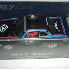 Slot Cars: BMW 3.5 CSL DE FLY REF.-88095 LE FALTA LA ETIQUETA DE LA REFERENCIA. Lote 150678938