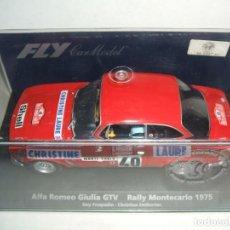 Slot Cars: ALFA ROMEO GIULIA DE FLY REF.-88130. Lote 150714350