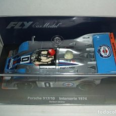 Slot Cars: PORSCHE 917/10 DE FLY REF.-88199. Lote 150714722