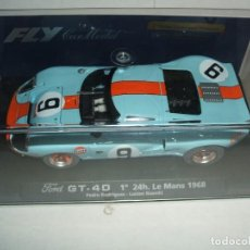 Slot Cars: FORD GT40 DE FLY REF.-88070. Lote 151001006
