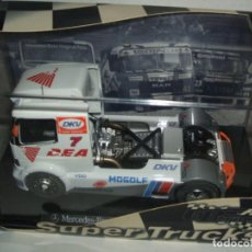 Slot Cars: CAMION MERCEDES BENZ ATEGO DE FLY REF.-08025. Lote 151237134