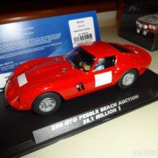 Slot Cars: FLY SLOT. FERRARI 250 GTO. PEBBLE BEACH AUCTION. REF. 042301. Lote 151459278