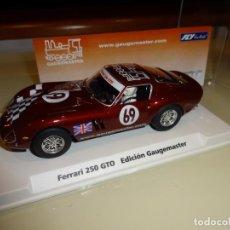 Slot Cars: FLY. FERRARI 250 GTO. GAUMASTER. REF. 99027. Lote 151459414