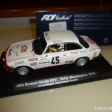 Slot Cars: FLY. ALFA ROMEO GIULIA GTV. RALLY MONTECARLO 1976. REF. A-803. Lote 151459542