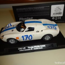 Slot Cars: FLY SLOT. FERRARI 250 LM. TARGA FLORIO 1966. REF. F02103. Lote 151459694