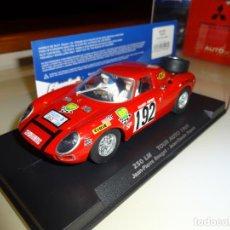 Slot Cars: FLY SLOT. FERRARI 250 LM. TOUR AUTO 1969. REF. 053108. Lote 151459786