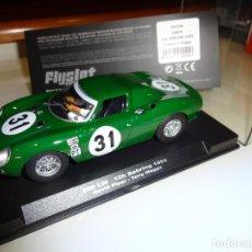 Slot Cars: FLY SLOT. FERRARI 250 LM. 12H SEBRING 1965. REF. F02104 . Lote 151459934