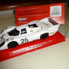 Slot Cars: FLY SLOT. PORSCHE 917 LH. TEST 24H LE MANS 1970. REF. 709101. Lote 151460074