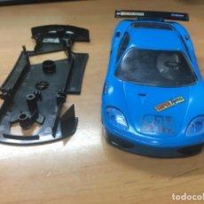 Slot Cars: CARROCERIA Y CHASIS FERRARI NINCO. Lote 151991138