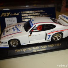 Slot Cars: FLY. FORD CAPRI RS TURBO. ZOLDER DRM 1983. REF. A-148. Lote 152932050