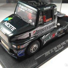 Slot Cars: FLY CAR MODEL CAMIÓN SISU SL 250 FIA ETRC 1998, REF. TRUCK 3,VÁLIDO SCALEXTRIC. Lote 154046358