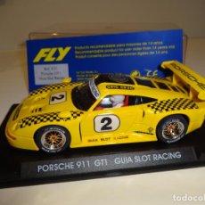 Slot Cars: FLY. PORSCHE 911 GT1. GUIA SLOT RACING. REF. E-31. Lote 154472718